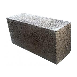 Блок стеновой керамзитобетонный полнотелый 400х90х200 мм