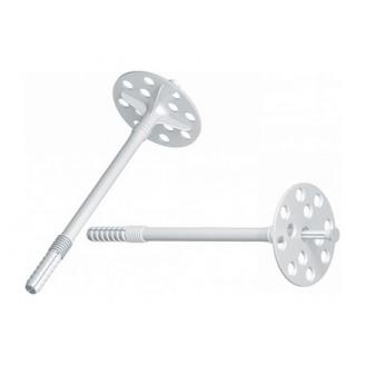 Дюбель для кріплення теплоізоляції з пластиковим цвяхом 1 сорт 10*70 мм