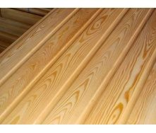 Вагонка дерев'яна сосна без сучка 12х88х3000 мм
