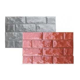 Фасадная плитка Гетьман 350x150 мм серая