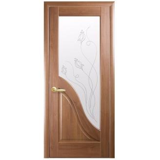Двери межкомнатные Новый Стиль МАЭСТРА Р Амата Р2 600х2000 мм золотая ольха