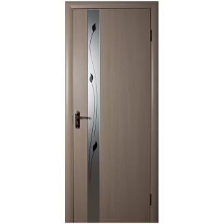 Двери межкомнатные Новый Стиль КВАДРА Р Злата 600х2000 мм беленый дуб