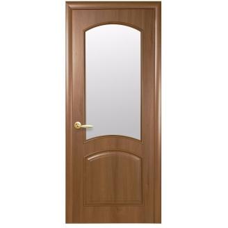 Двери межкомнатные Новый Стиль ИНТЕРА DeLuxe Антре 600х2000 мм золотая ольха