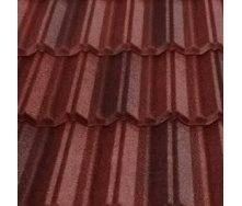 Композитная черепица Metrotile Classic 1300x410 мм red-brown