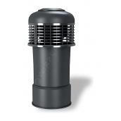 Колпак для вентиляционного выхода Wirplast Alfawent К14 150x410 мм серый RAL 7046