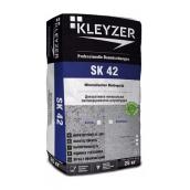 Декоративная штукатурка KLEYZER SK42 минеральная барашек 25 кг