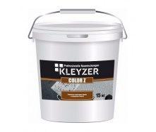 Структурная краска KLEYZER Z акриловая 15 кг белый