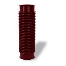 Переходник для вентиляционных выходов Wirplast Rury U33 110x420 мм коричневый RAL 8017