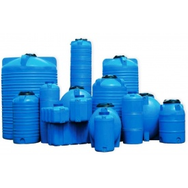 Вертикальний бак для питної води V-1000 л 1400х1030 мм
