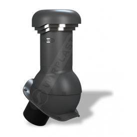 Вентиляционный выход Wirplast Wirovent Perfekta Pro W13 125x440 мм антрацитовый RAL 7021