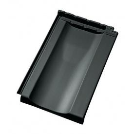 Черепица Jacobi Standard-Grossfalzziegel Z10 287х456 мм темно-серый
