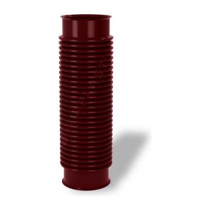 Перехідник для вентиляційних виходів Wirplast Rury U33 110x420 мм коричневий RAL 8017