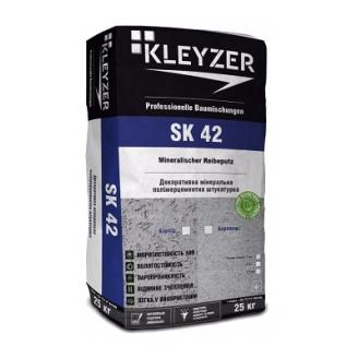 Декоративна штукатурка KLEYZER SK42 мінеральна баранець 25 кг