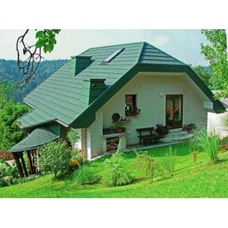 Покраска фасадов и крыш