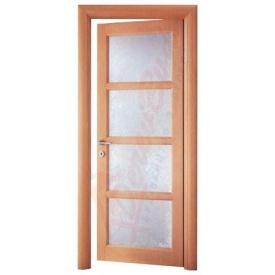 Двери из ольхи DerevBud светлые со сткелом 42х800х1900 мм