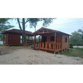 Деревянный каркасно-щитовой сборный дом