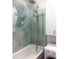 Шторка для ванної односекційна 8 мм