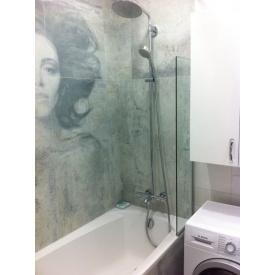 Шторка для ванной односекционная 8 мм