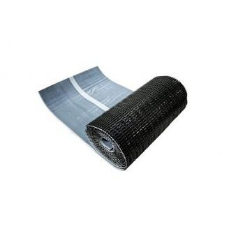 Лента примыкания Wentop алюминиевая 300x5000 мм черная