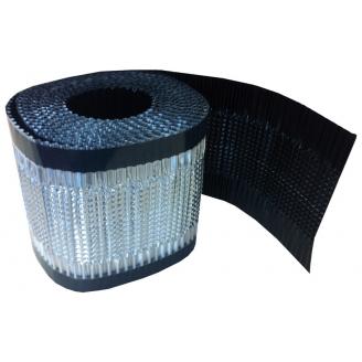Лента подконьковая вентиляционная Wentop 300х5000 мм антрацит