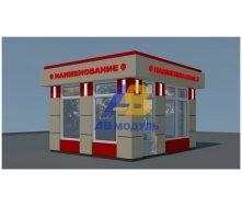 Строительство торгового киоска 12 м2