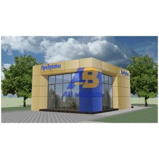 Строительство торгового павильона 15 м2