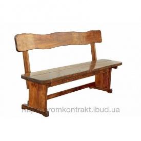 Виготовлення дерев'яних лавок