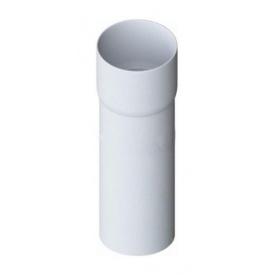 Труба водостічна з муфтою Альта-Профіль Еліт 95 мм 3 м білий