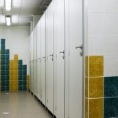 Сантехническая перегородка НОВЫЙ ПРОЕКТ ГРУПП СТАНДАРТ туалетная 900x1200x2000 мм белый