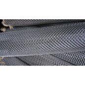 Сетка-рабица оцинкованная 4 мм 10х10 см 2х10 м