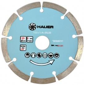 Диск алмазний Segment Hauer 190-spitce 230 мм