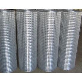 Сетка сварная штукатурная металл оцинкованный 1,8 мм 50х50 см 1,5х30 м