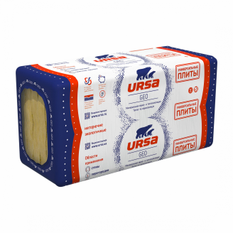 Теплоізоляція URSA GEO Універсальні плити 50x600x1250 мм