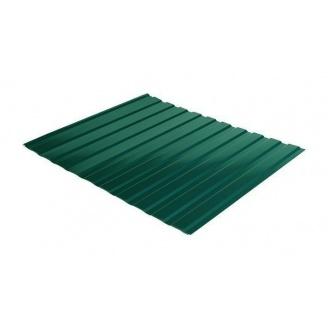 Профнастил Rauni C-10 1190/1140 мм 0,45 мм Polyester SeAH Steel (Корея) RAL 6005