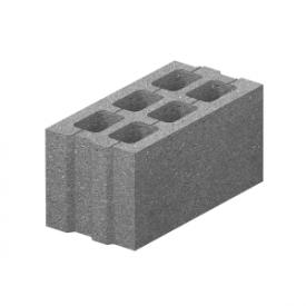 Шлакоблок стіновий М75 200х200х400 мм