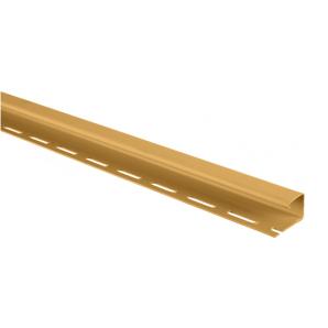 Планка J-trim Альта-Профіль BlockHouse 3,66 м золотистий