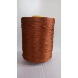 Нитки для оверлока ковролина 5 кг коричневые