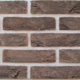 Кирпич ручной формовки Екатеринославский Таврический темный 1/2NF 250x60x65 мм коричневый