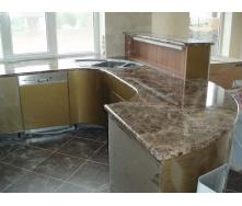 Кухонная столешница из мрамора