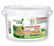Интерьерная краска OPTIMA VD-Klasik 1 акриловая 10 л