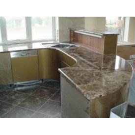 Кухонна стільниця з мармуру