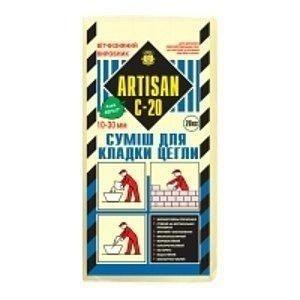 Смесь для кладки Артисан С-20/25 25 кг