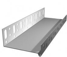 Алюминиевый цокольный профиль 2,5х53 мм