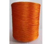 Нитка для оверлока доріжки помаранчевий металік