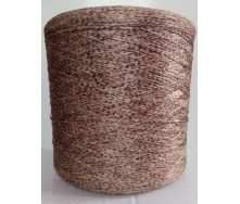 Нить для оверлока краев коврика коричневая плямистая