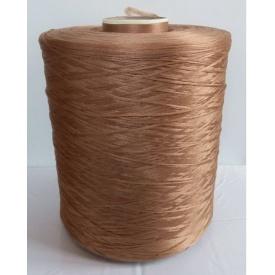 Нить для оверлока ковровой дорожки светло-коричневая
