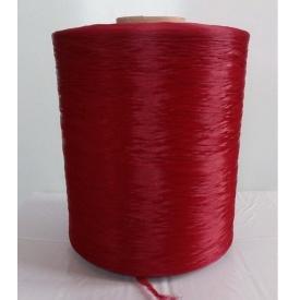 Нитка для оверлока коврового покрытия вишневая