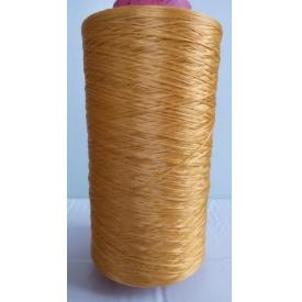 Нить для оверлока коврового изделия темно-желтая