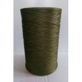 Нитка для оверлока коврика хаки зеленая