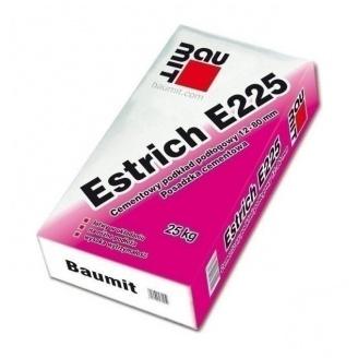 Стяжка для пола Baumit Solido E225 25 кг